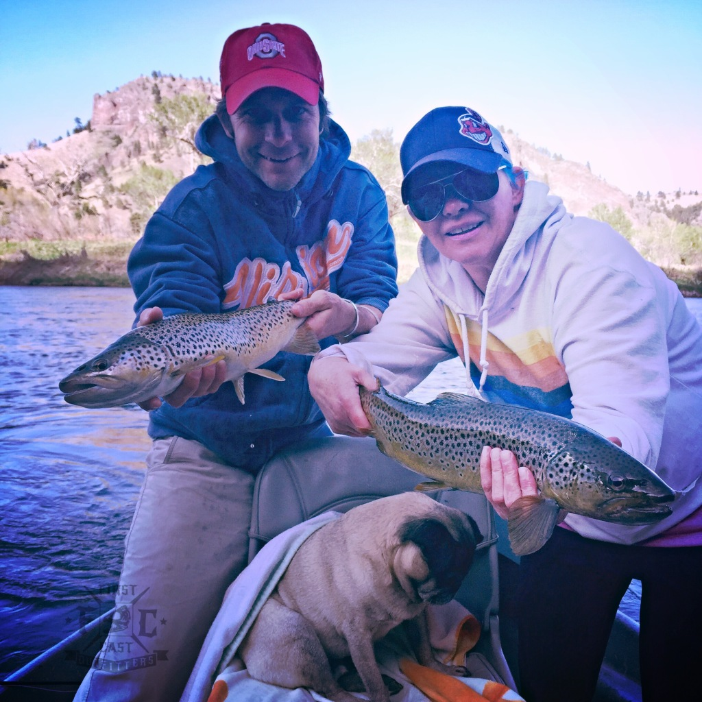 Missouri River Fly Fishing Report First Cast Outfitters