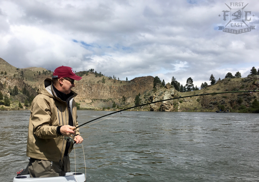 Missouri river fishing report may 23rd 2017 first for Missouri fishing report
